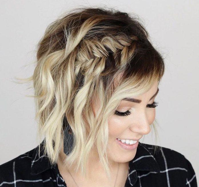 Найкращі жіночі зачіски на коротке волосся: як заплести гарні коси (фото) - today.ua