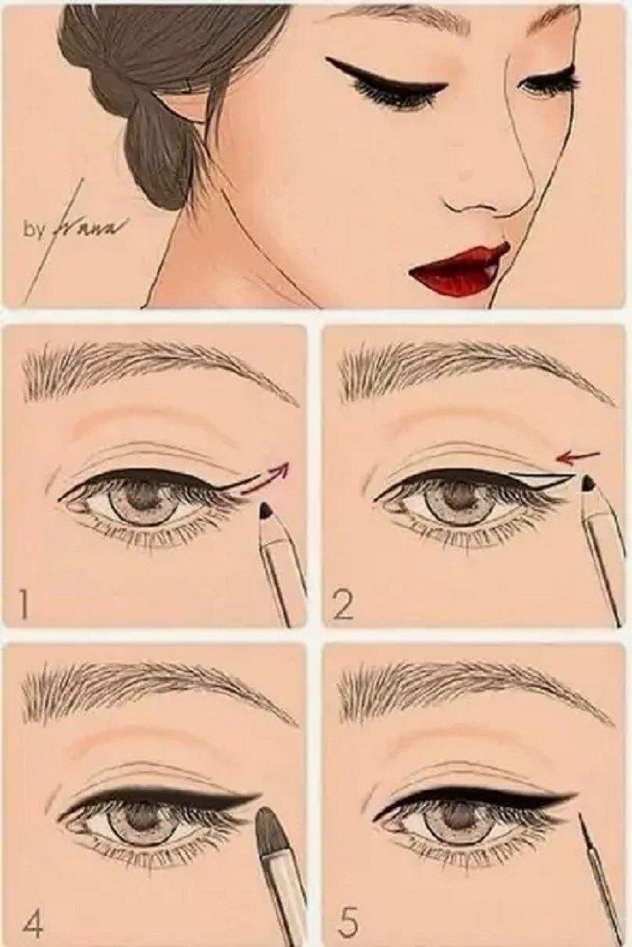Макіяж очей: прості техніки для ефектного результату