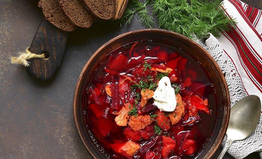 """Постный борщ с грибными """"ушками"""": рецепт вкусного и полезного блюда - today.ua"""
