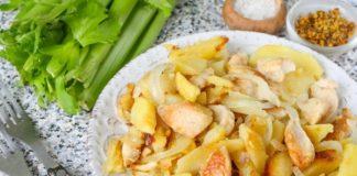 Тушкована картопля з беконом: рецепт економної та ситної вечері нашвидкуруч - today.ua