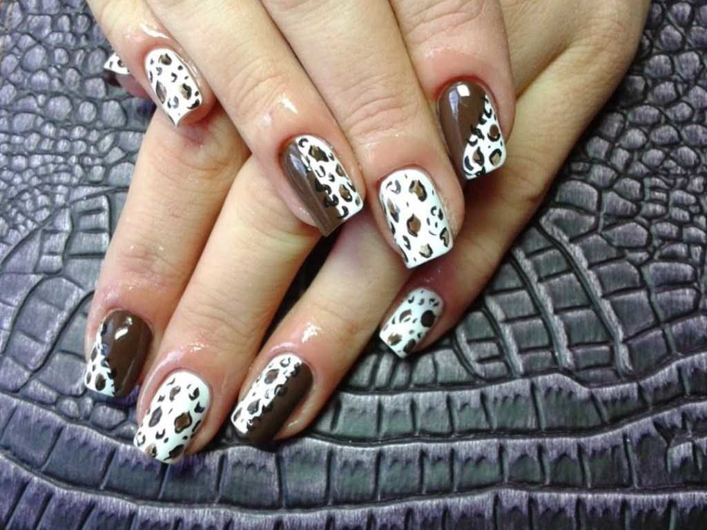 Манікюр з леопардовим принтом: свіжі ідеї стильного нейл-арту (фото)