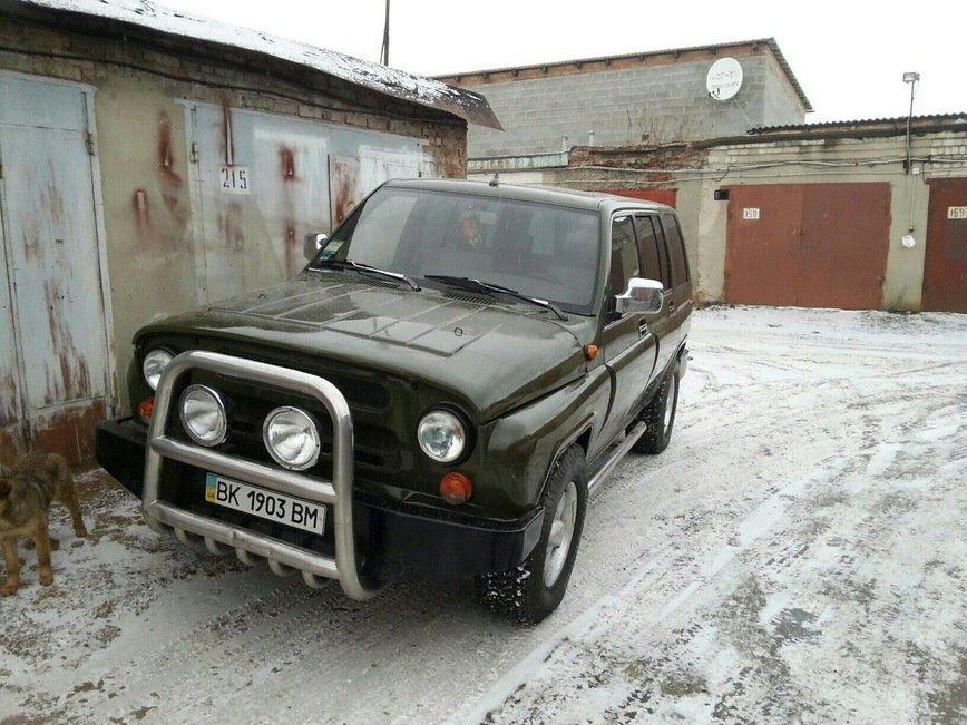 Українець схрестив позашляховики УАЗ і Opel Monterey  - today.ua