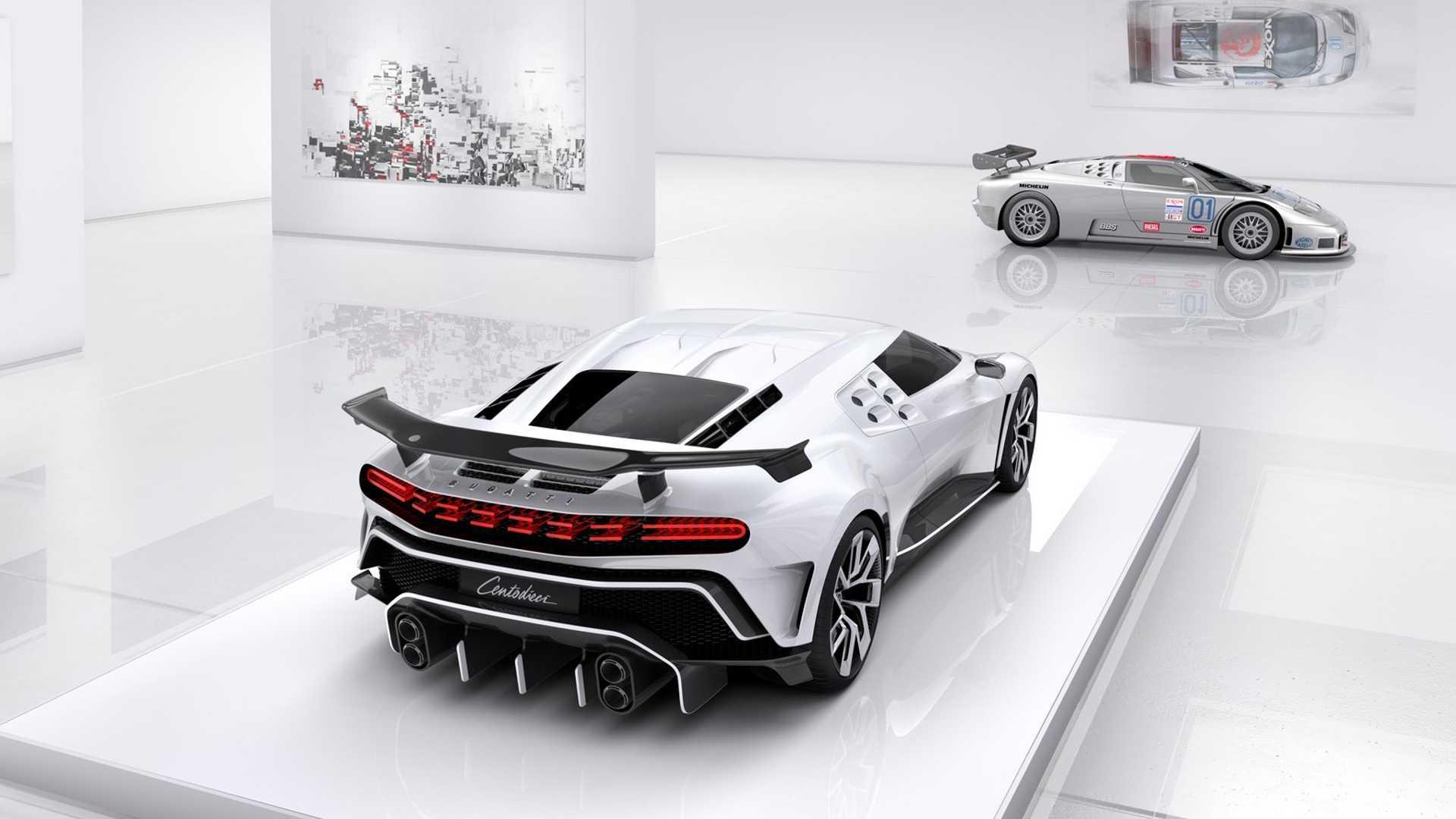 Кріштіану Роналду купив Bugatti Centodieci