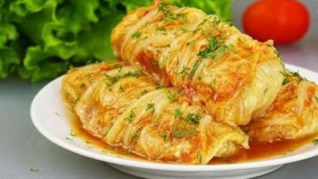 Голубці з пекінської капусти: смачна і ситна вечеря за півгодини