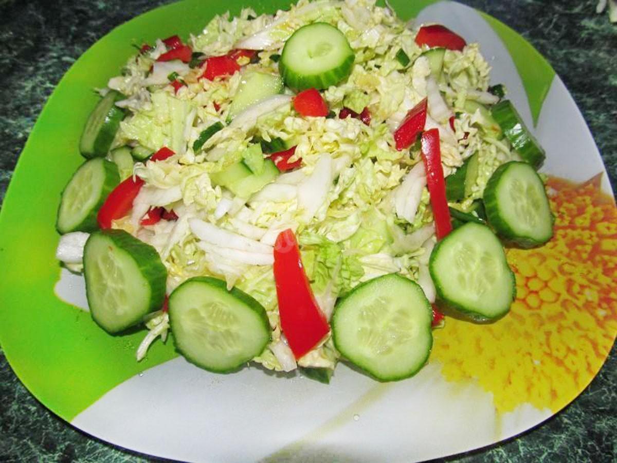 Салат із пекінської капусти – недорогий порятунок від весняного авітамінозу - today.ua
