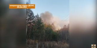 """В Чернобыле загорелось еще 35 гектаров земли"""" - today.ua"""