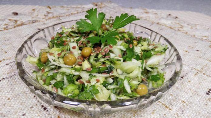 Вітамінний салат «Весняний»: рецепт корисної страви для здоров'я і фігури - today.ua