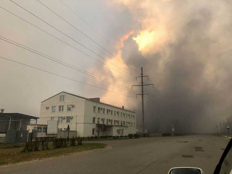 Пожежа у Чорнобилі: вогонь вже дібрався до ЧАЕС - today.ua
