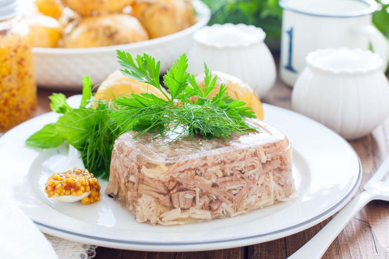 Холодец мясной рецепт с фото