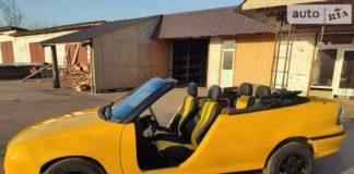 Украинец переделал Opel Astra в кабриолет без дверей - today.ua