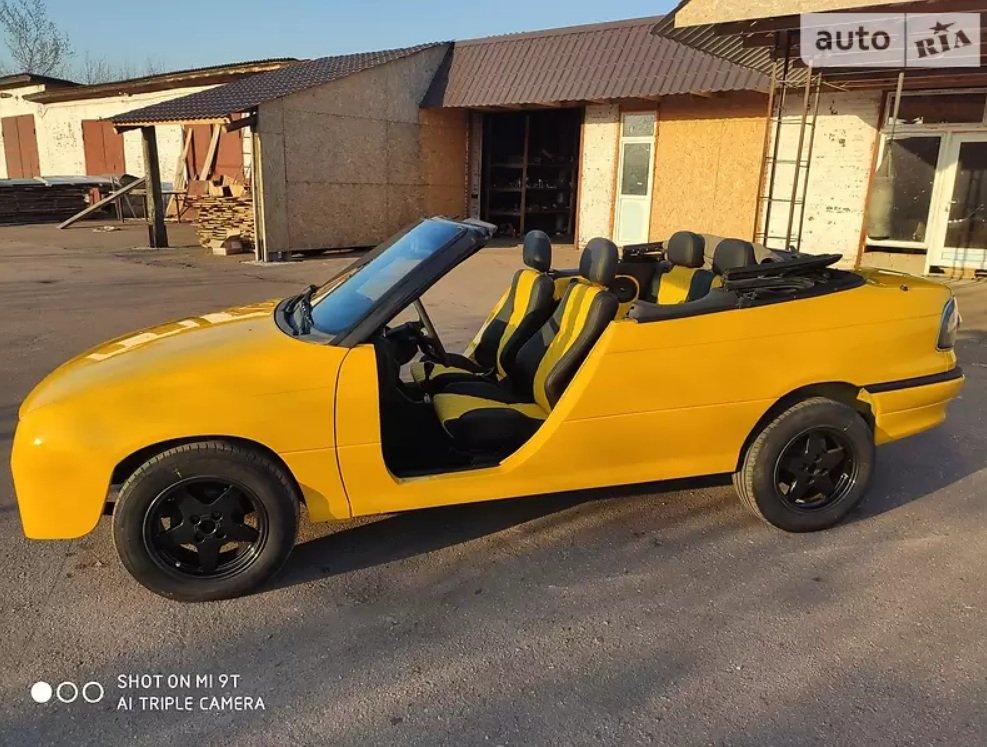 Українець переробив Opel Astra в кабріолет без дверей  - today.ua