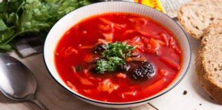 Борщ с черносливом по старинному рецепту: уникальное блюдо с насыщенным вкусом - today.ua