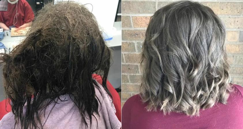 """Дівчина ходила з """"мочалкою"""" на голові і хотіла поголитися налисо, але стилістам вдалося зробити неймовірне"""