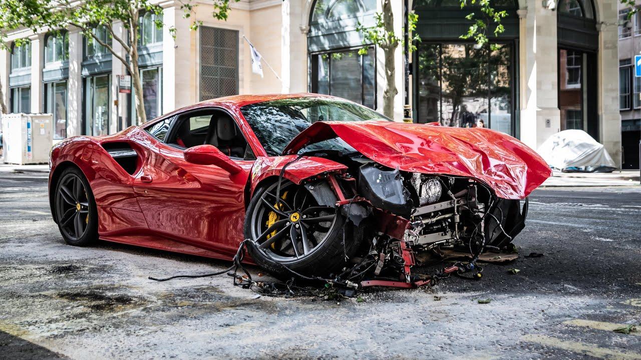 Известный певец разбил арендованный Ferrari стоимостью 300 000 евро - today.ua