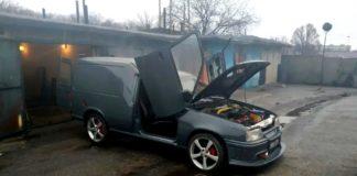 В Україні зробили фургон в стилі Lamborghini - today.ua