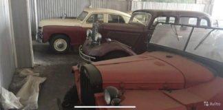 Коллекцию советских автомобилей продают за $100 000 - today.ua