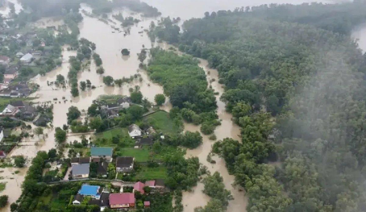 Западная Украина уходит под воду: Аваков показал фото масштабной катастрофы - today.ua