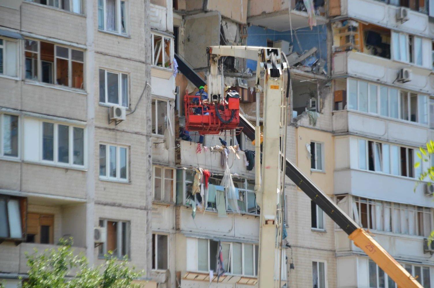 Жертвами вибуху в житловому будинку на Позняках видали неіснуючі квартири