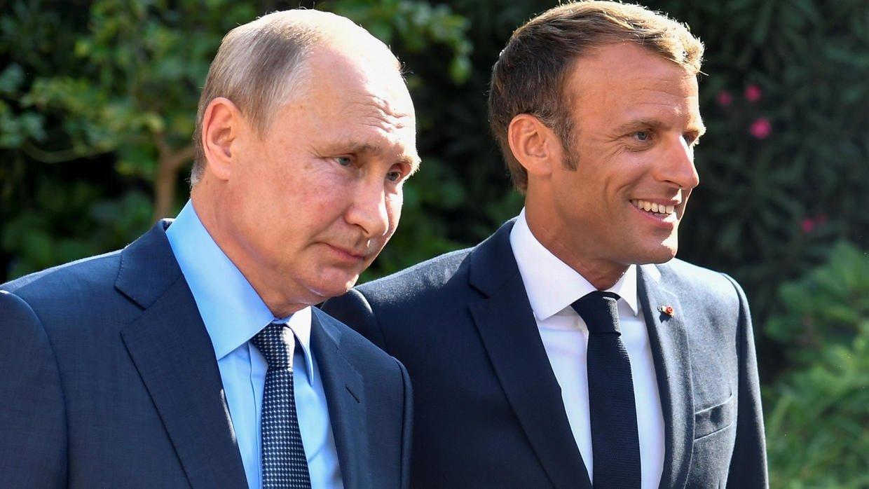 Путін і Макрон в терміновому порядку обговорять Україну