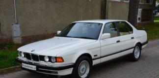 У Польщі знайшли 30-річну BMW 7 Series з пробігом 775 км - today.ua