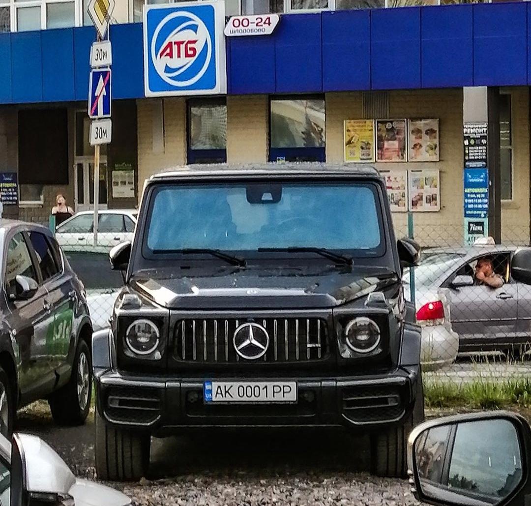 В Украине засняли Mercedes-AMG G63 в необычном месте - today.ua