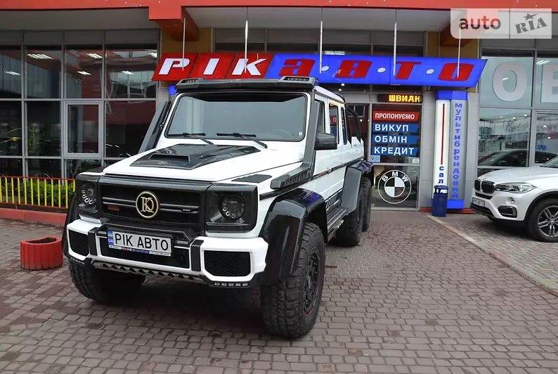 Богатые тоже экономят: В Украине на Mercedes G-Class 6X6 установили ГБО