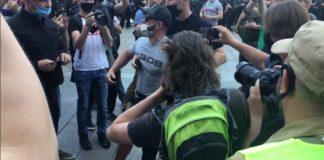 """Вуличні """"радикали"""" пішли в атаку на прихильників Шарія: що відбулося під Офісом президента"""" - today.ua"""