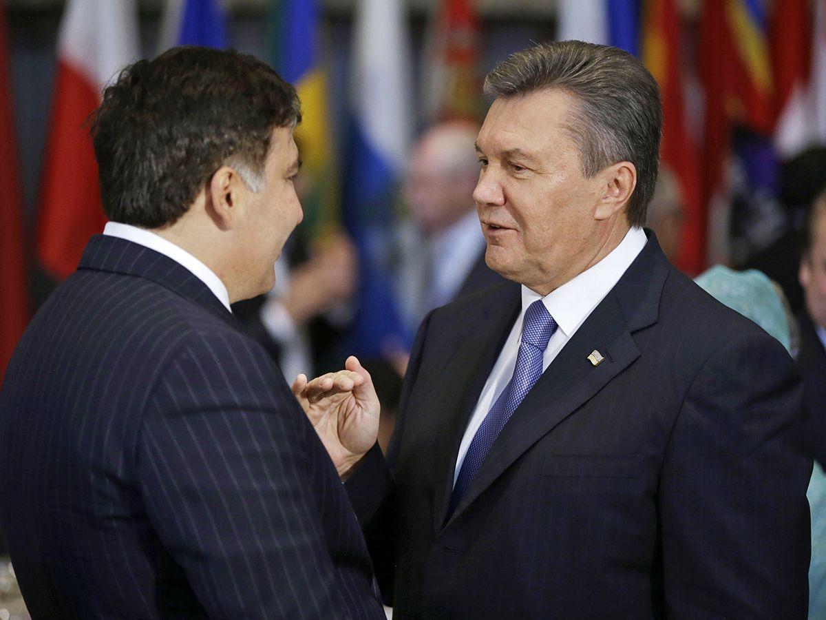 Саакашвили поведал мистическую историю, как Янукович решился стать президентом: трижды поглаженный