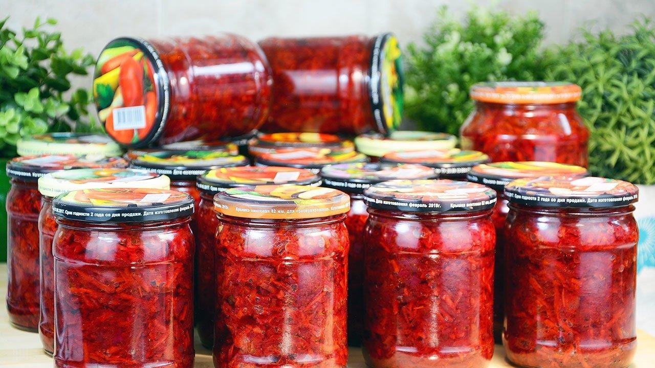 Заправка для борща на зиму: рецепт заготовки, которая поможет экономить время на кухне - today.ua