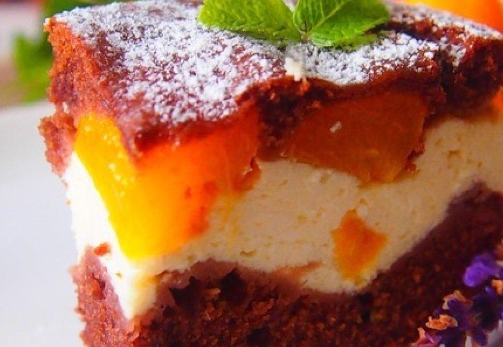 Творожный пирог с абрикосами: рецепт вкусного и легкого десерта