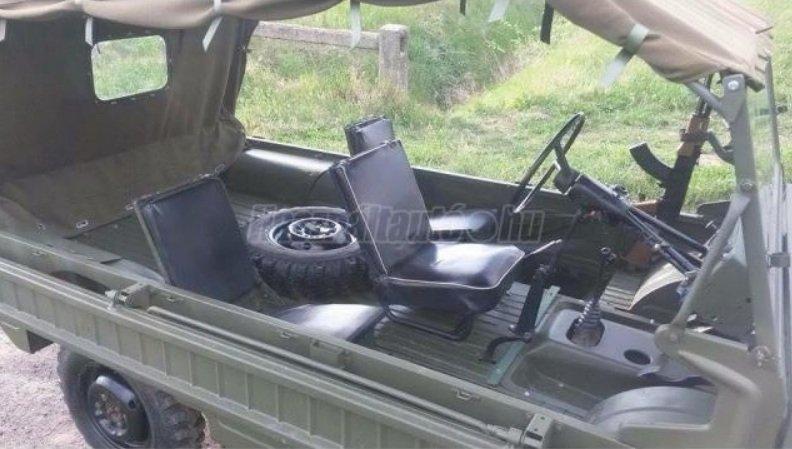 В Угорщині продають українські позашляховики-амфібії ЛуАЗ