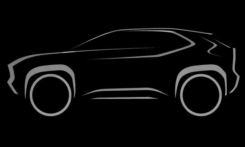 Toyota запускает продажи нового компактного кроссовера на базе Corolla