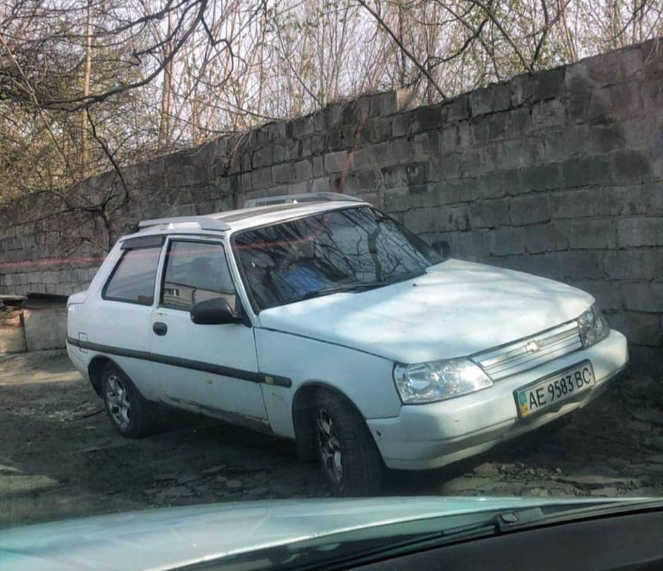 В Днепре заметили уникальное купе «Таврия» - today.ua