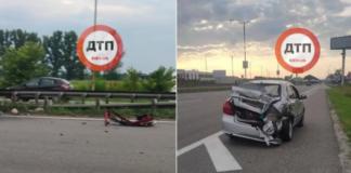 """Смертельна ДТП під Києвом: водій заснув за кермом і влетів у відбійник """" - today.ua"""