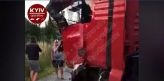 Масштабное ДТП на трассе под Киевом: фура врезалась в автобус с пассажирами - today.ua