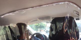 """Таксисти почали відгороджуватися плівкою від пасажирів"""" - today.ua"""