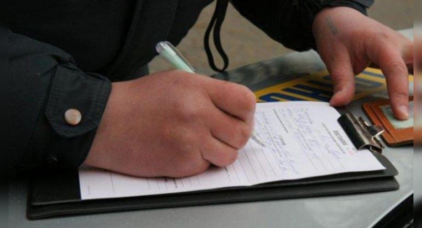 ТОП-3 вещей, которые не должен писать водитель в протоколе полицейского