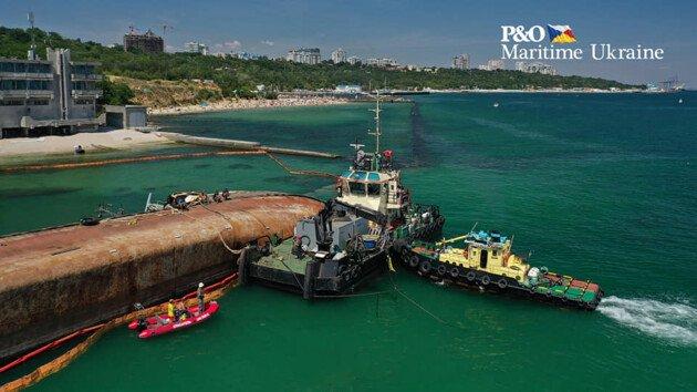 Підйом танкера Delfi в Одесі знову провалився: друга спроба скінчилася крахом