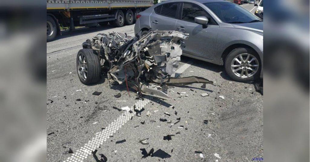 Масштабное ДТП на трассе Киев-Чоп: столкнулись четыре автомобиля, водители двух погибли
