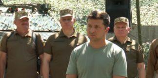 """Зеленський провів ніч в ООС: що змусило президента два дні їсти і навіть випивати з військовими"""" - today.ua"""