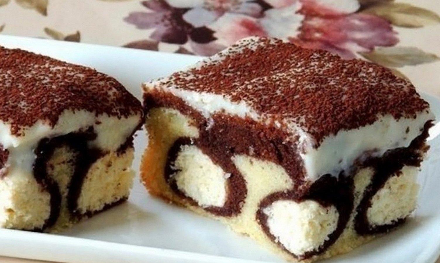 Пирог «Утренняя роса»: рецепт очень вкусного и красивого в разрезе десерта - today.ua