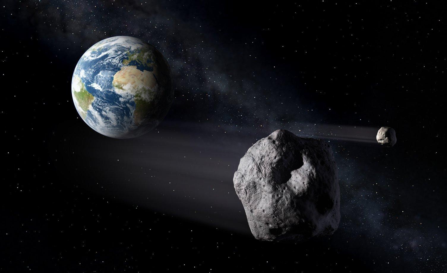Между Землей и Луной пролетит гигантский астероид, о котором ученые ничего не знают - today.ua
