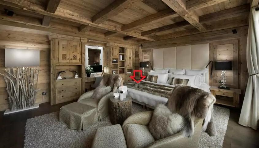 Тест на внимательность: найдите на фото кролика, который спрятался в комнате