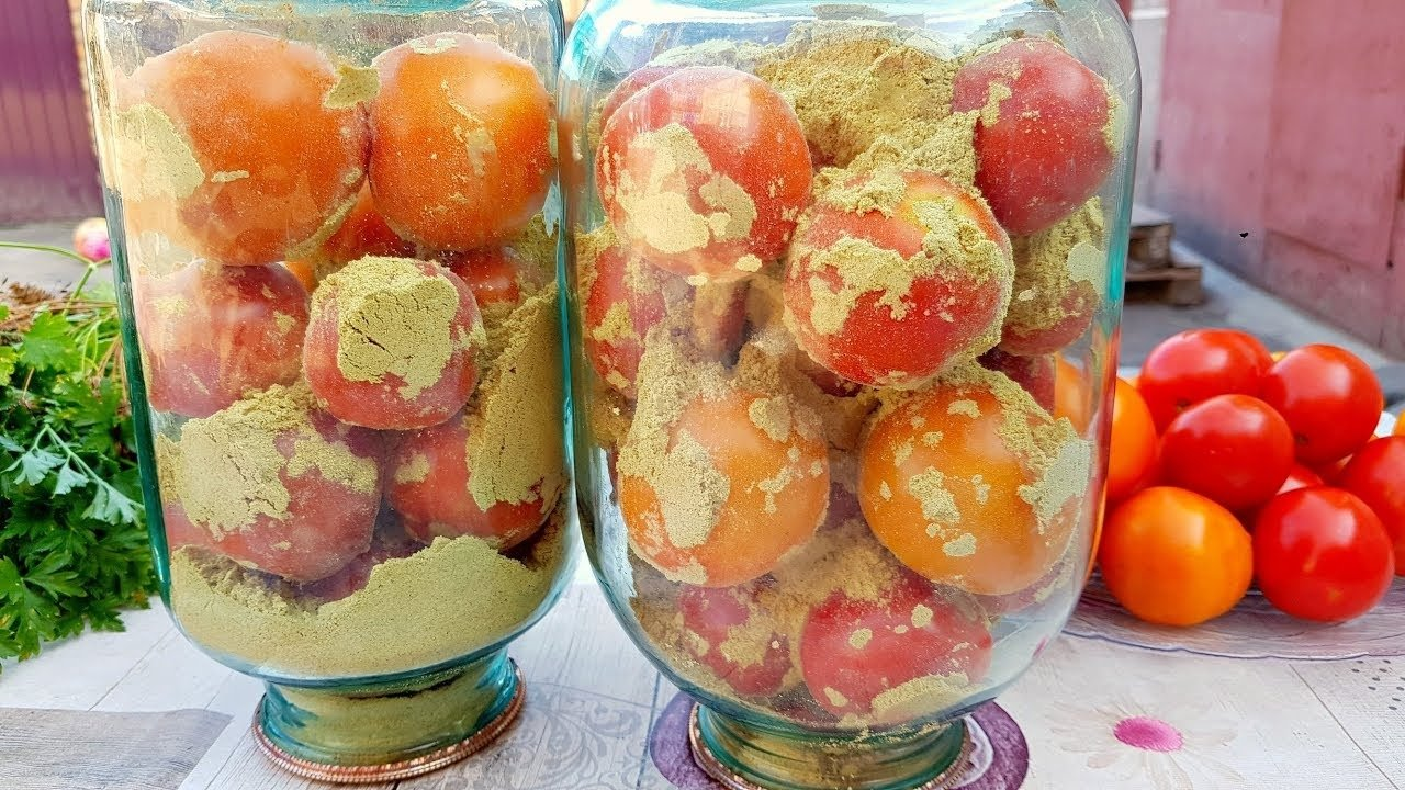 Помидоры на зиму без воды и уксуса: новый рецепт консервирования томатов