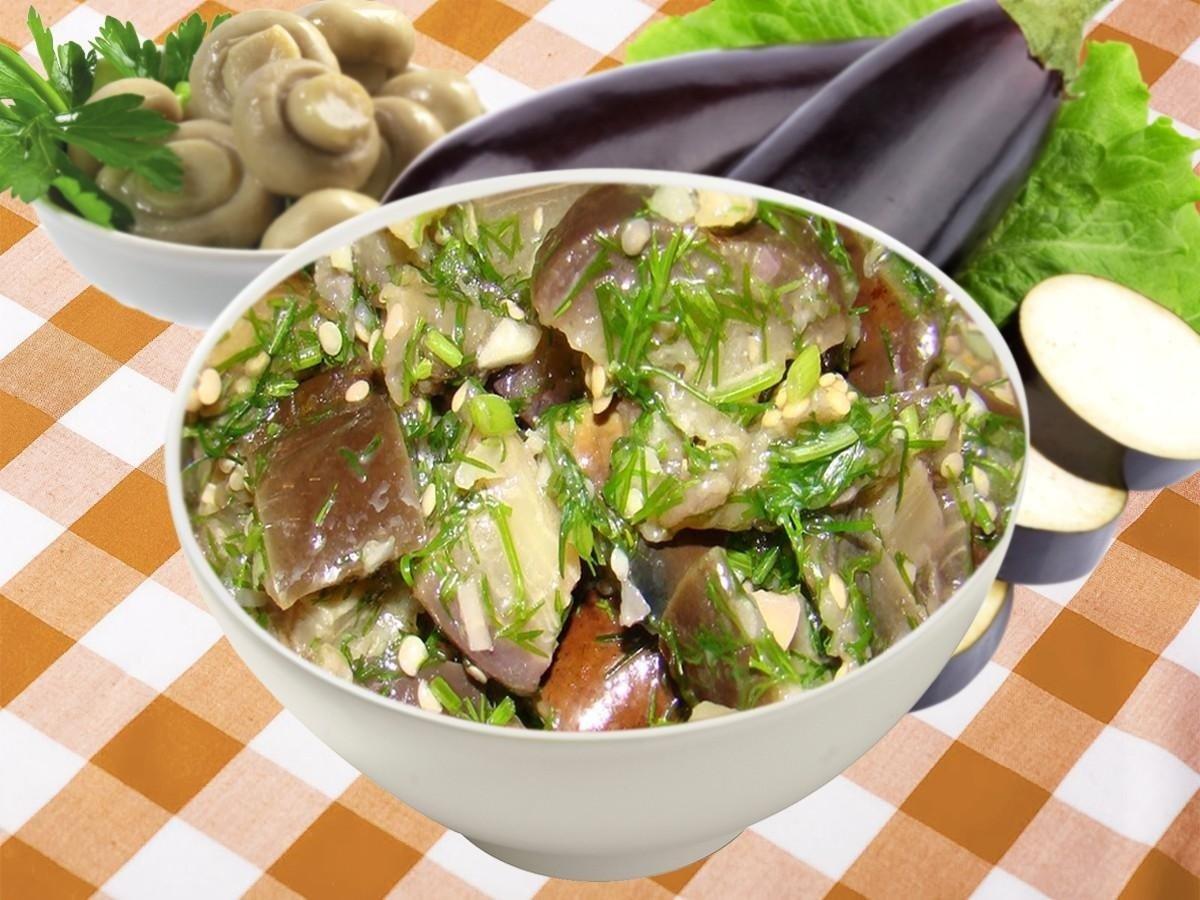 Баклажаны как шашлык на зиму: рецепт аппетитной, вкусной и ароматной заготовки