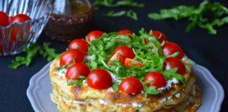 """Кабачковий торт з помідорами: рецепт святкової літньої страви нашвидкуруч"""" - today.ua"""