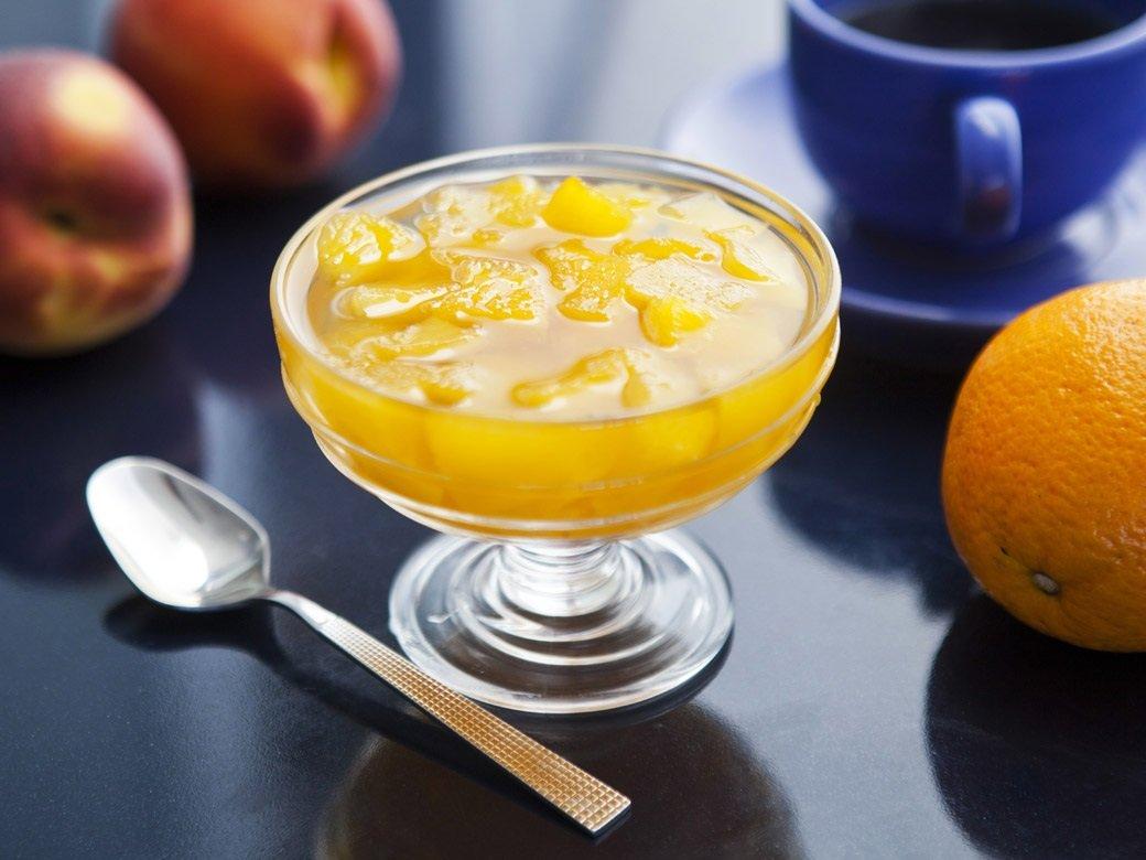 Варенье из персиков с апельсинами: вкусный и полезный десерт на зиму