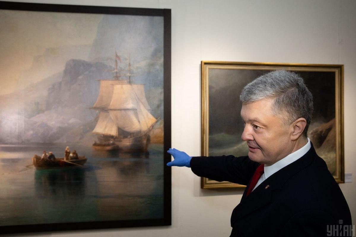 """Порошенко вернули его арестованные картины: """"Ничего не пропало"""" - today.ua"""