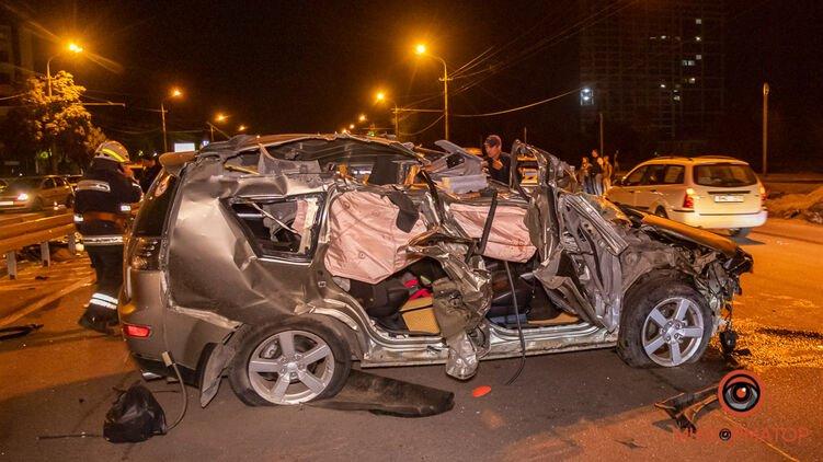 Два жутких ДТП в Днепре, произошедших в один вечер, унесли три жизни