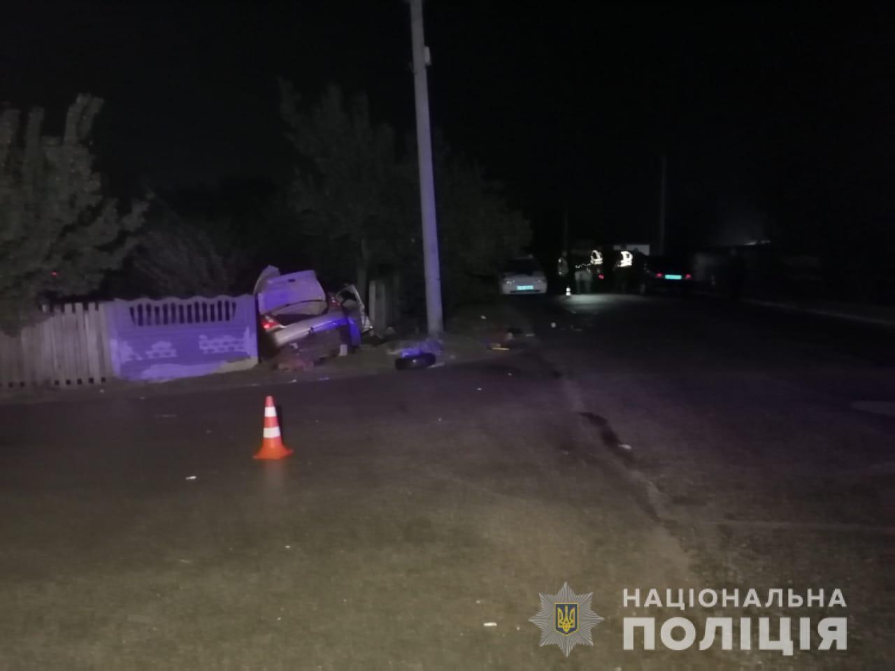 На Київщині машина, повна підлітків, потрапила в ДТП: двоє не вижили